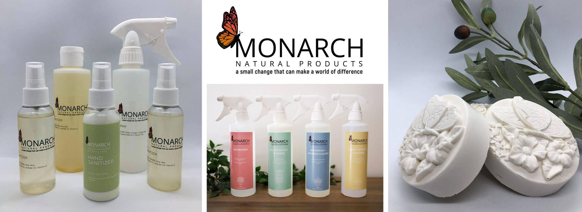 Monarch Natural Products Banner